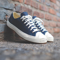 CONVERSE Jack Purcell JP Post Applied - Navy / Egret