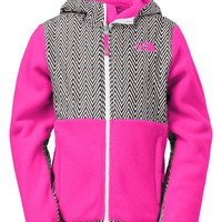 Girl's The North Face 'Denali' Water Resistant Recycled Fleece Hoodie