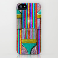 A Brush with Wet Paint iPhone & iPod Case by Peter Gross