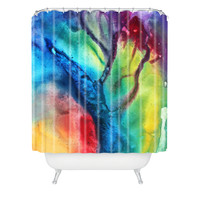 Madart Inc. The Beauty Of Color 3 Shower Curtain