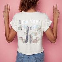 CALEIGH NEW YORK 32 TOP