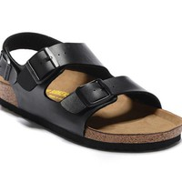 Men's and Women's BIRKENSTOCK sandals Milano Birko-Flor 632632288-121