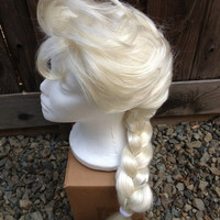 Elsa Frozen Princess Wig Screen Quality Custom Couture Styled