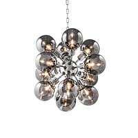 Smoked Glass Chandelier | Eichholtz Ludlow