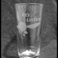 Navi - HEY LISTEN Pint Glass