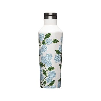 Rifle Paper Co. x Corkcicle Canteen - Cream Hydrangea