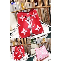 LV fashionable lady casual printed shoulder bag hot seller with shopping Mosaic color #4
