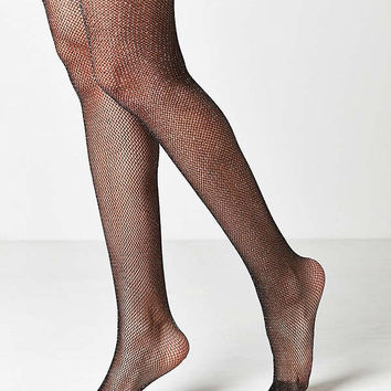 Out From Under Sparkle Fishnet Tight | Urban Outfitters