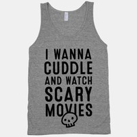 Cuddle and Watch Scary Movies