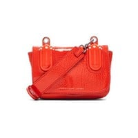 Marc by Marc Jacobs Ball & Chain Bubble Patent Bond Bag in Orange