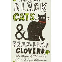 Black Cats & Four-Leaf Clovers Book