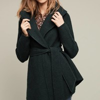 Wrapped Wool Sweater Coat
