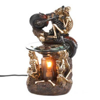 Motorcycle Skeleton Oil Warmer