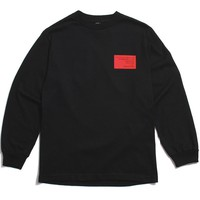 Collab Longsleeve T-Shirt Black