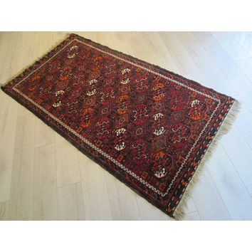 Dimensional Transitional Persian Rug Pile of Wool Imported Southern Region