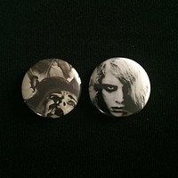 """NIGHT OF THE LIVING DEAD 1"""" buttons"""
