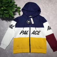 Men's Hoodies Europe Street tide brand off white skateboard color space cotton sweater cardigan palce Hooded men and women Coat