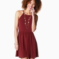 High Square Fit And Flare Dress | Charming Charlie