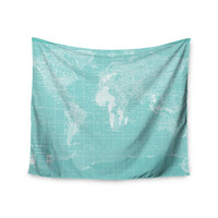 "Catherine Holcombe ""Welcome to my World"" Wall Tapestry"