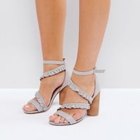 Call It Spring Quarata Ruffle Heeled Sandals at asos.com