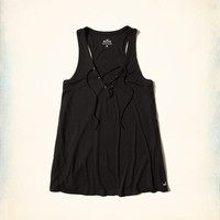 Girls Must-Have Easy Lace-Up Tank | Girls New Arrivals | HollisterCo.com