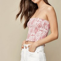 LA Hearts Smocked Tube Top at PacSun.com