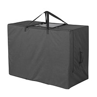 """Cuddly Nest Folding Mattress Storage Bag Heavy Duty Carry Case for Tri-Fold Guest Bed Mattress (Fits Up to 6 Inches Twin Mattress, Black) Fits Up to 6"""" Twin Size Mattress"""