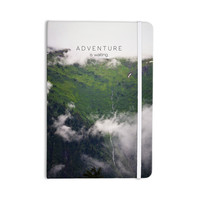 """Ann Barnes """"Adventure is Waiting"""" Mountain Everything Notebook"""