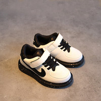 Casual Comfort Hot Deal On Sale Hot Sale Stylish Children Shoes Korean Velcro Flat Anti-skid Sneakers [4919304900]