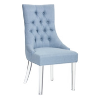 SLOAN DINING CHAIR ICE BLUE