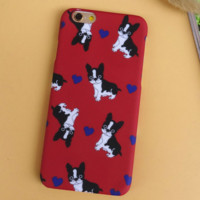 Unique Dogs Solid Case Cover for iPhone 6 6s Plus Gift