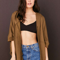Out From Under Drapey Cardigan - Urban Outfitters