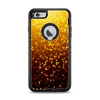 The Bright Gold Glowing Sparks Apple iPhone 6 Plus Otterbox Defender Case Skin Set