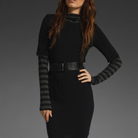 BAILEY 44 Strange Days Dress in Black & Black Charcoal at Revolve Clothing - Free Shipping!