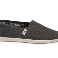 Burnt Chambray Youth Classics   TOMS.com