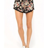 Gypsy Flowers Woven Shorts