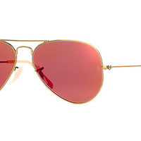 Ray-Ban RB3025 55 ORIGINAL AVIATOR Sunglasses | Sunglass Hut