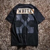 Trendsetter Offwhite Women Men Fashion Casual Shirt Top Tee