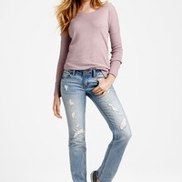 VS Hipster Straight Leg Jean - Victoria's Secret