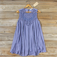 Lace Gypsy Dress in Slate