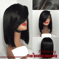 Straight Bob Wigs Synthetic Lace Front Wigs