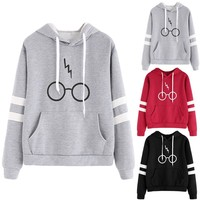 Harry Potter Glasses and Scar Hoodie
