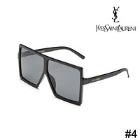 YSL Yves Saint Laurent personality big square square sunglasses F-ZXJ #4