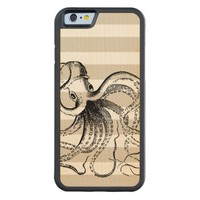 Vintage Octopus and Nautical Stripes