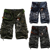 New Design Men Fashion Cargo Shorts