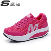 Women sneakers  new fashion sneakers summer female sports shoes wedge sneakers for women leisure outdoor shoes