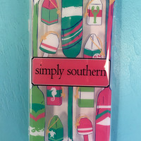 Simply Southern Iphone 6 Plus Case- Paddles