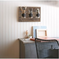 Wooden Plaque with Mason Jars : Target