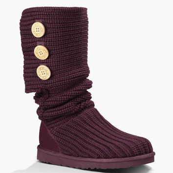 Ugg Classic Cardy Womens Boots Port  In Sizes