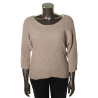 INC Womens Knit 3/4 Sleeves Pullover Sweater
